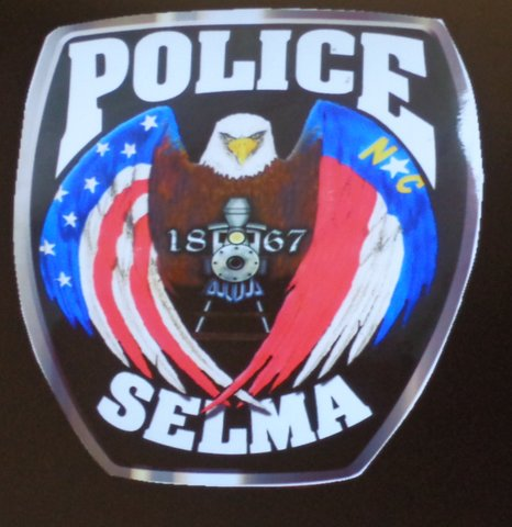 Selma PD Patch Logo