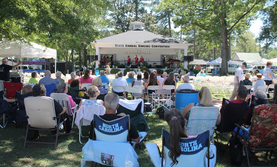 Crowds gathered Sunday for the final day of the annual Benson Gospel Singing Convention.