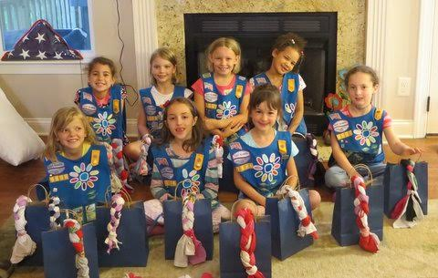 Girl Scouts Ruf Creek 6-12-15