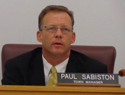 Smithfield Town Manager Paul Sabiston