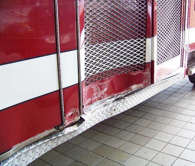 Fire Truck Damage 2