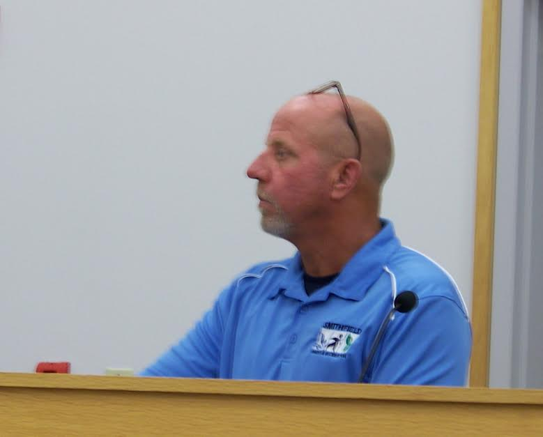Gary Johnson, Director of Smithfield Parks & Recreation