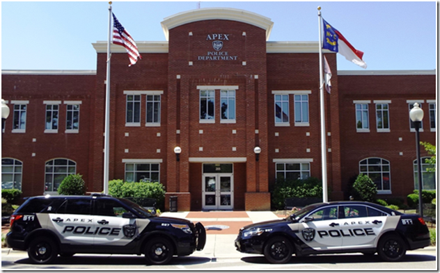 Grand National Car 2015 >> Apex Police Wins National Vehicle Design Award | JoCo Report