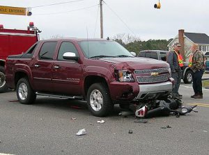 The DOT hopes to reduce accidents, like this one, at the intersection of Highway 96 North and Little Devine Road by converting the intersection into a 4-way stop beginning Wednesday. JoCoReport.Com 2009 Photo