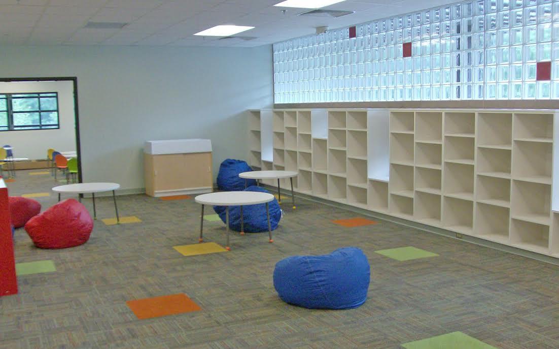 Inside the Clayton Community Center