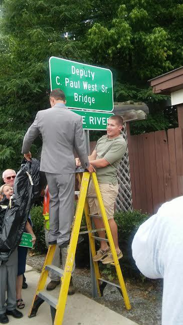 Paul West Bridge Dedication 6-16 4