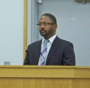 Smithfield Finance Director Greg Siler says online bill payment convenience fees will range from $0.50 to $4.50 with a new vendor approved by the Smithfield Town Council Tuesday night. JoCoReport.com Photo